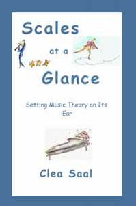 Scales at a Glance: Setting Music Theory on Its Ear (music theory)